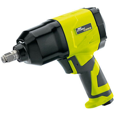 """Draper Storm Force Air Impact Wrench with Composite Body 1/2"""" Square Drive 65017"""