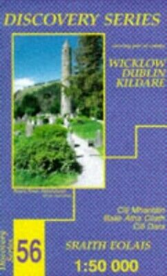 Irish Discovery Map 56 Wicklow, Dub... by Ordnance Survey Irel Sheet map, folded
