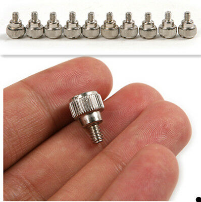 10Pcs Thumb Screws Tool-Free Computer Case AT/ATX Power Supply PC System M3.5*5