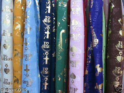 Religious Scarves = 12 Assorted colors Wholesale