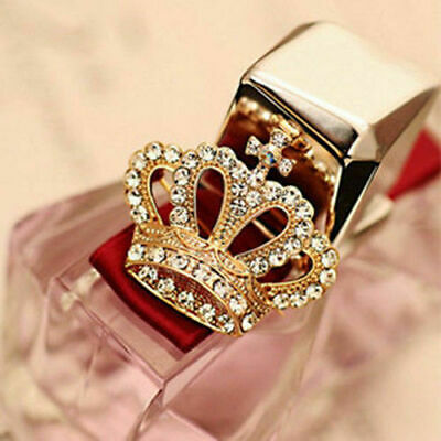 Luxury Crown Full Crystal Crown Design Wedding Women Brooch Pin Gold Crown Pin