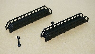Outland Models Railway Main. Platform x2 TypeC for Station Engine House N Scale