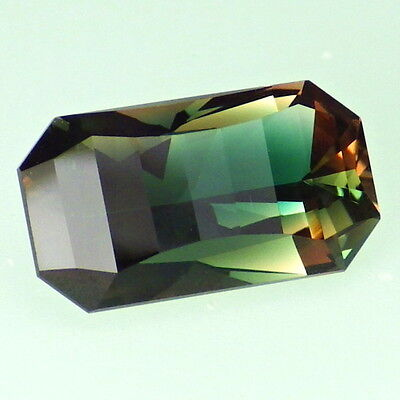 BLUE GREEN-ORANGE PINK DICHROIC OREGON SUNSTONE 3.35Ct FLAWLESS-INCREDIBLE COLOR