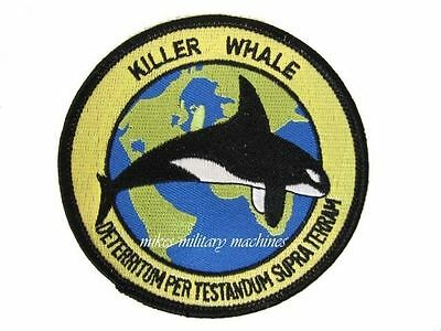 USAF Air Force 6513th Test Squadron Black Ops Killer Whale TSSAM ADM-137 Patch