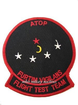 USAF Air Force Area 51 Military Black Ops ATOP Technology Stealth Aviation Patch