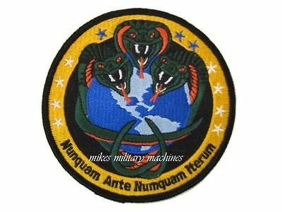 USAF Black Ops Area 51 NRO National Recon Office Snakes Never Before Again Patch