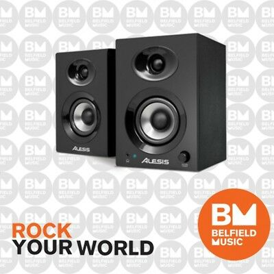 Alesis Elevate3 Active Studio Monitor Speakers 20w Pair Elevate 3 20 Watts - BM