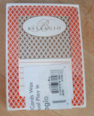 The Bellagio Casino Las Vegas Playing Cards Used And Resealed