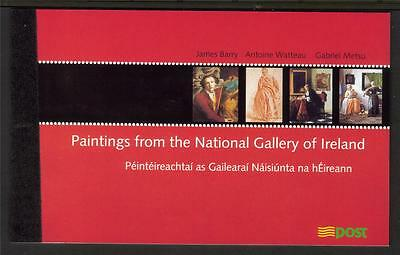 Ireland 2003 140Th Anv Of The National Gallery Of Ireland £7.68 Booklet Sb111