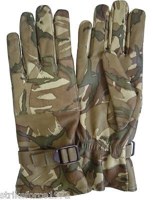 NEW  MTP Multicam Leather British Army Issue Lightweight Combat Gloves - Size 11