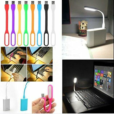 Flexible Mini USB LED Light Computer Lamp for Reading Writing Keyboard 9 Color