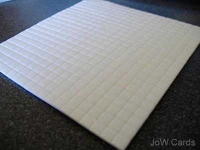 440 Decoupage Foam Sticky Pads 5x5x3mm Double Sided - 1 sheet