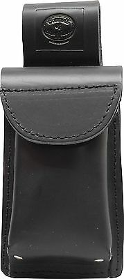 Black Leather Mobile Smart Phone Holder - Connell of Sheffield
