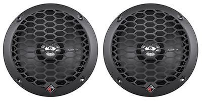 "2 Rockford Fosgate PPS4-6 6"" 4-Ohm Punch Car Audio MidRange MidBass Speakers"