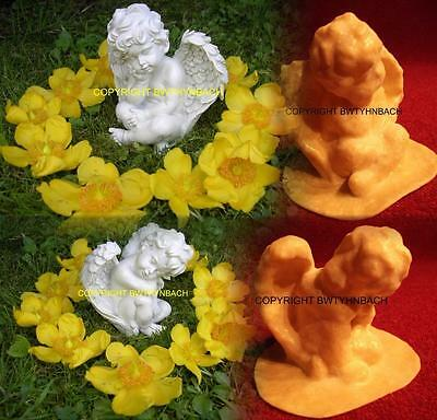 New Rubber Latex Mould Moulds Mold To Make Cherub Ornament 2 Designs