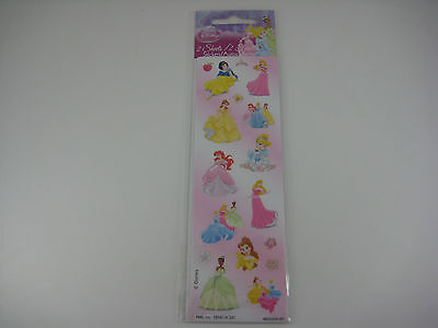Stickerfitti Disney Princess - Assorted Princesses - 2 Sheets of Stickers #S1