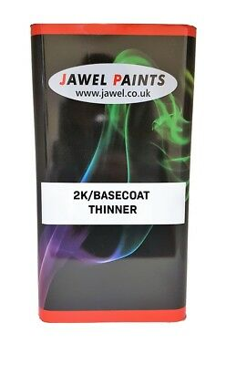 2K THINNER FOR ACRYLIC GLOSS PAINT AND 2K CLEAR LACQUER 5 Litre FAST AIR DRY