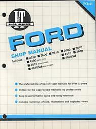 ford 2600 tractor service manual