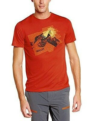 Millet Base Camp T-Shirt manches courtes Homme Rouge FR : S Taille NEUF