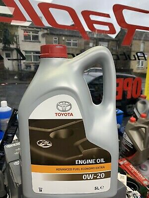 Genuine Toyota/Lexus Engine Motor Oil 0W20 5 Litres 08880-83265