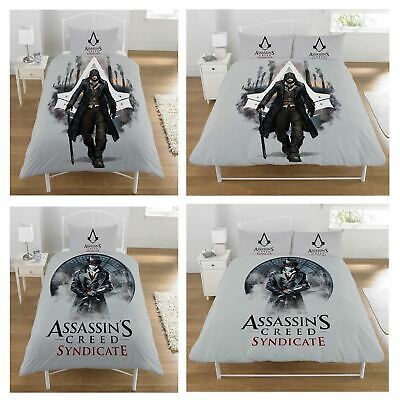 Assassins Creed Duvet Cover Sets Various Designs Boys Bedding Reversible 2 In 1