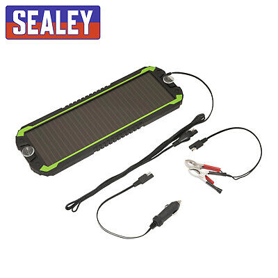 Sealey 12V Car,Van,Boat,Caravan,Camper Solar Panel Trickle Battery Charger SPP01