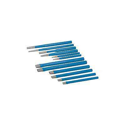 Silverline Punch + Chisel Set 12pce Mechanical Engineering - PC05