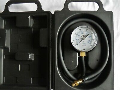 Low Pressure Manometer Gauge Kit Gas LPG Propane Furnace Manifold Line HVAC Tool