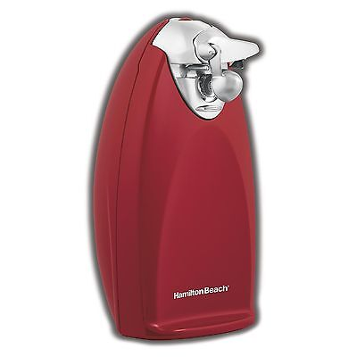 Hamilton Beach Classic Heavyweight Countertop Electric Can Opener, Red | 76388R