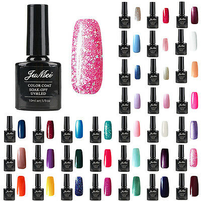 Gel polish Soak-off UV LED Gel Polish Nail Art Base Top Coat 10ml Lacquer