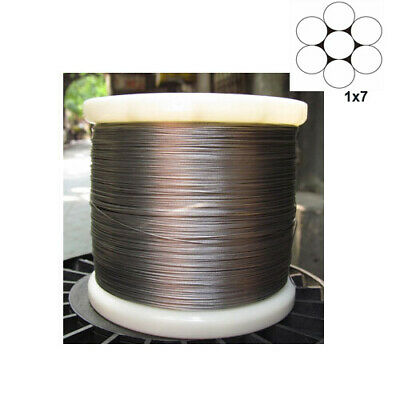 1x7 304Stainless Steel Cable Wire Rope(0.3mm to 0.8mm)