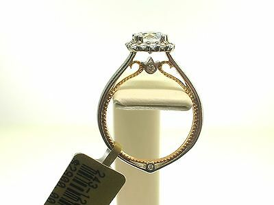 Verragio 18K Couture 0419Tt Mounting 0.30 Ct Diamonds - Size 6 Us -Retail $2900