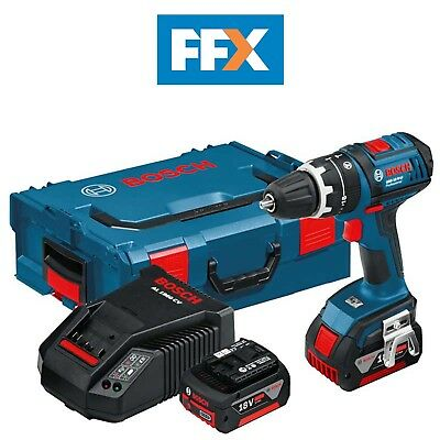 Bosch GSB18VLi 18v Dynamic Combi Drill Kit 2 x 4.0AH Li-Ion