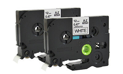 2x Tape Compatible For Brother P-Touch H105