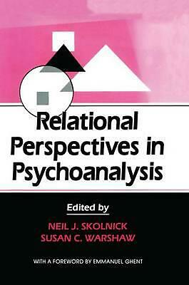 NEW Relational Perspectives in Psychoanalysis by Paperback Book (English) Free S