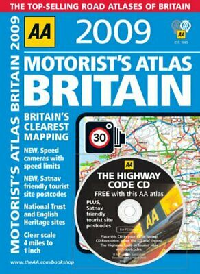 AA Motorists Atlas (AA Atlases and Maps) (AA At... by AA Publishing Spiral bound