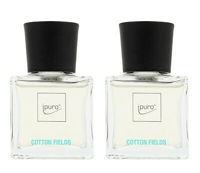 "ipuro Raumduft essentials line ""Cotton Fields"" im Diffusor 50 ml, 2er Set (100 m"