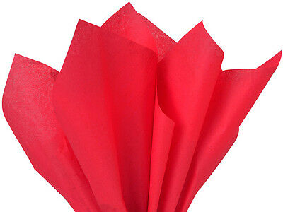 Red TISSUE PAPER (1) REAM 480 SHEETS  20 X 30