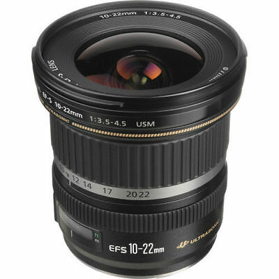 Canon EF-S 10-22mm f/3.5-4.5 USM Digital SLR Lens NEW