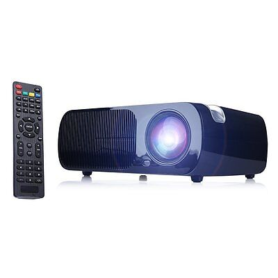 IRULU 2600 lumens LCD Home Cinema Theater Projector multimedia 1080P HDMI USB