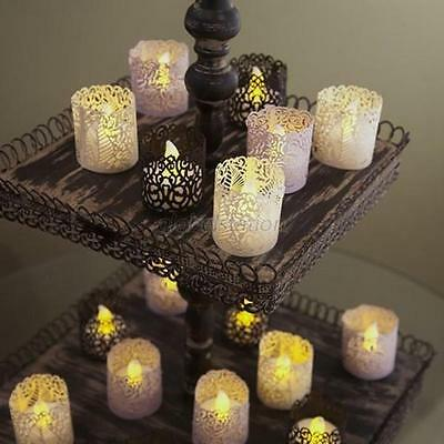 25pc Tea Light Candle Holders Votive Candle Lampshade for Party Table Decoration