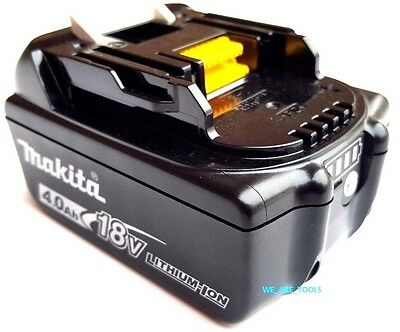 NEW Makita BL1840B 18V GENUINE Battery 4.0 AH W/ Fuel Gauge Fr Drill,Saw 18 Volt