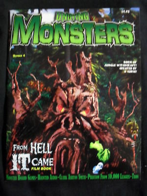 Undying Monsters Magazine #4 Spring 2012 Bagged ,
