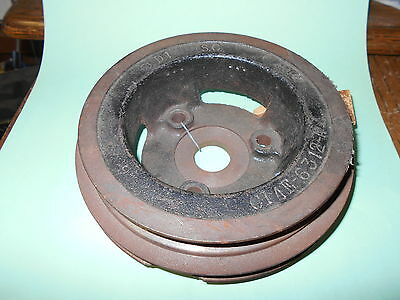 Nos 1967 Shelby Gt500 2 Groove Lower Crankshaft Pulley