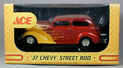 Ace Hardware '37 Chevy Street Rod Coin Bank & Hat Limited Edition Free Shipping