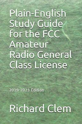 FCC Amateur Radio License Print Large WHITE MARBLE 13 x 19