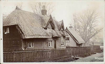 Gilston near Harlow. Thatched House.