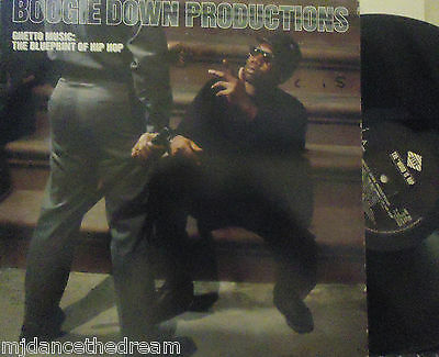 BOOGIE DOWN PRODUCTIONS - Ghetto Music ~ VINYL LP