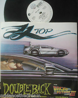 "ZZ TOP ~ Doubleback ~ 12"" Single PS"
