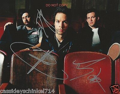 "Chevelle band Reprint Signed 8x10"" Photo RP ALL 3 Members Pete & Sam Loeffler +"